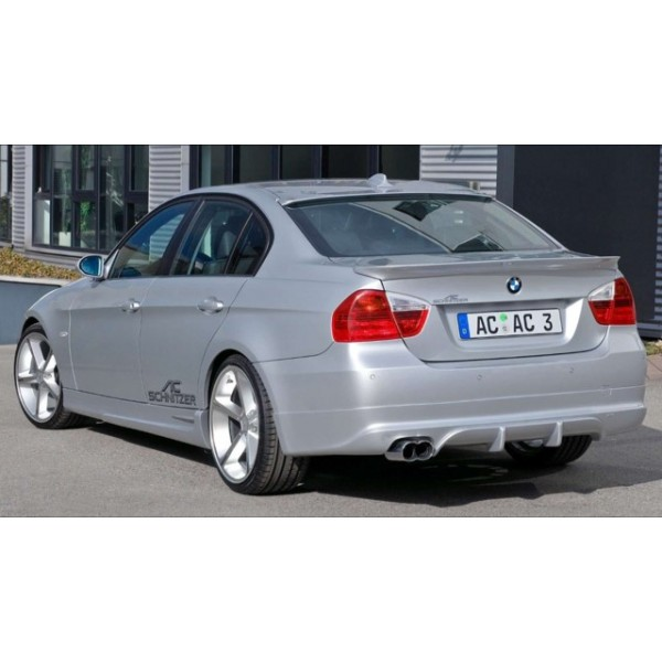 snitzer style boot spoiler for bmw e90 3 series 2005 2011. Black Bedroom Furniture Sets. Home Design Ideas
