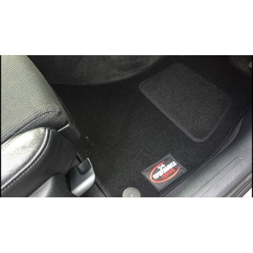 2008 2011 audi a4 b8 fitted floor mats with fk logo. Black Bedroom Furniture Sets. Home Design Ideas