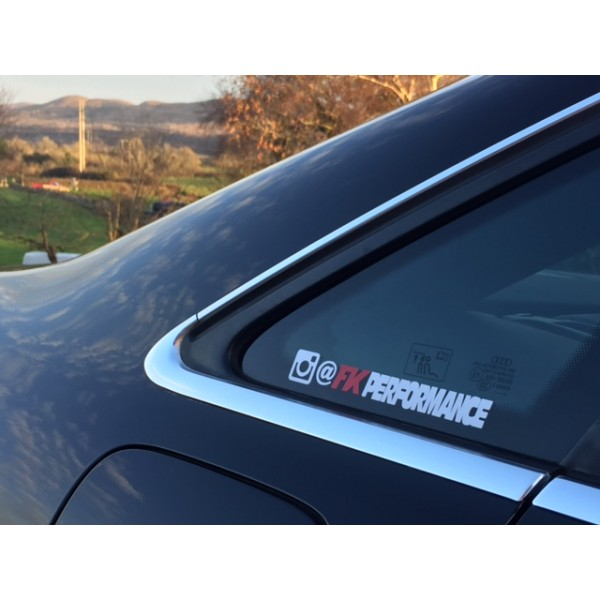 Fk performance instagram sticker