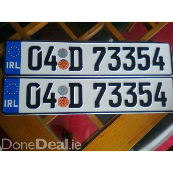 Number Plates Ireland Requirements Best Plate 2017