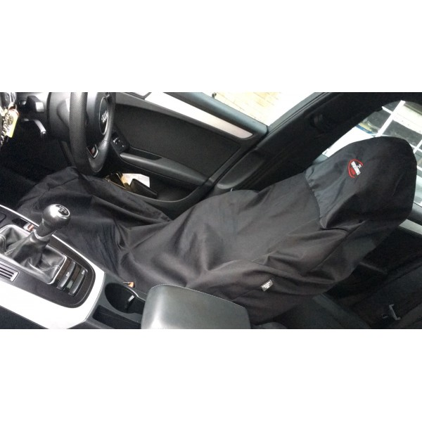 FK performance action sport style seat cover black x1 universal